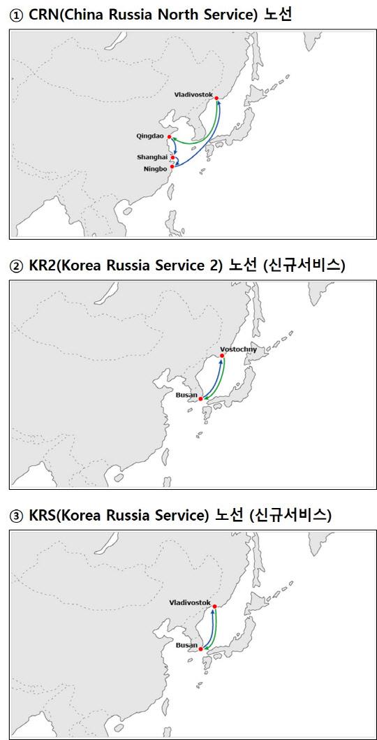현대상선, 러시아 선사와 협력 확대
